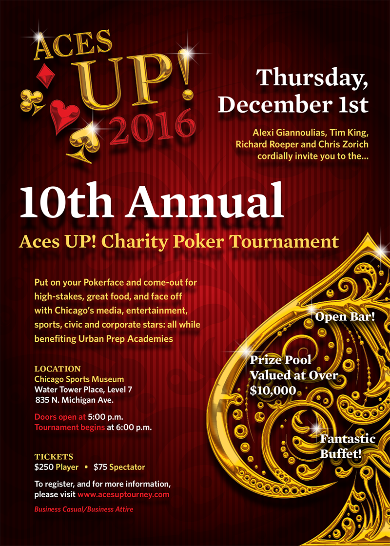 Aces Up 2015 is December 3rd